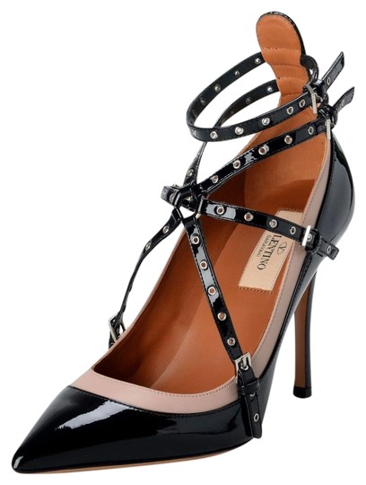 Preload https://img-static.tradesy.com/item/22251359/valentino-multi-color-garavani-women-s-patent-leather-two-tones-ankle-strap-high-pumps-size-us-6-reg-0-1-540-540.jpg