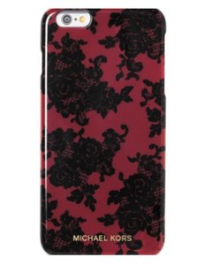 Michael Kors NWT $50 Michael Michael Kors Lace-Print iPhone 6 Plus Case