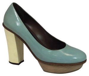 Marni pale blue Platforms