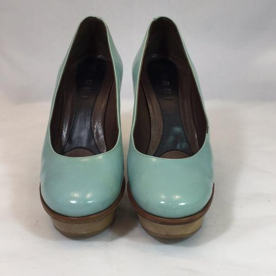 Marni pale blue Platforms Image 1