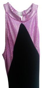 Curtain Call Suede Costume Shortsleeve Sequined Dress