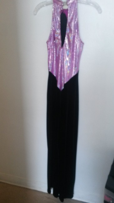 Curtain Call Suede Costume Shortsleeve Sequined Dress Image 2