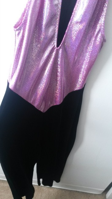 Curtain Call Suede Costume Shortsleeve Sequined Dress Image 4
