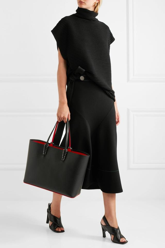 81b86f0258f0 Christian Louboutin Cabata Shopper Studded Tote in Black Image 10.  1234567891011
