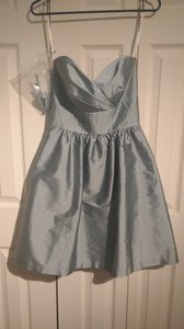 Alfred Sung Breezy Peau De Soie (Label Says Polyester) D542 Formal Bridesmaid/Mob Dress Size 2 (XS)