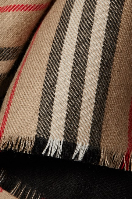 Burberry Brit Wool Wrap Cape Image 1