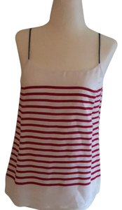 Banana Republic Top red white and navy