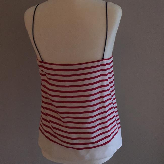 Banana Republic Top red white and navy Image 4