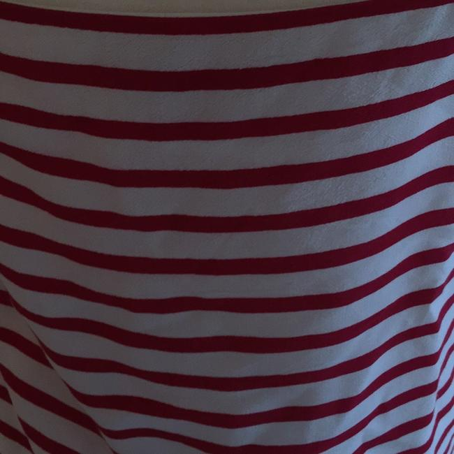 Banana Republic Top red white and navy Image 5