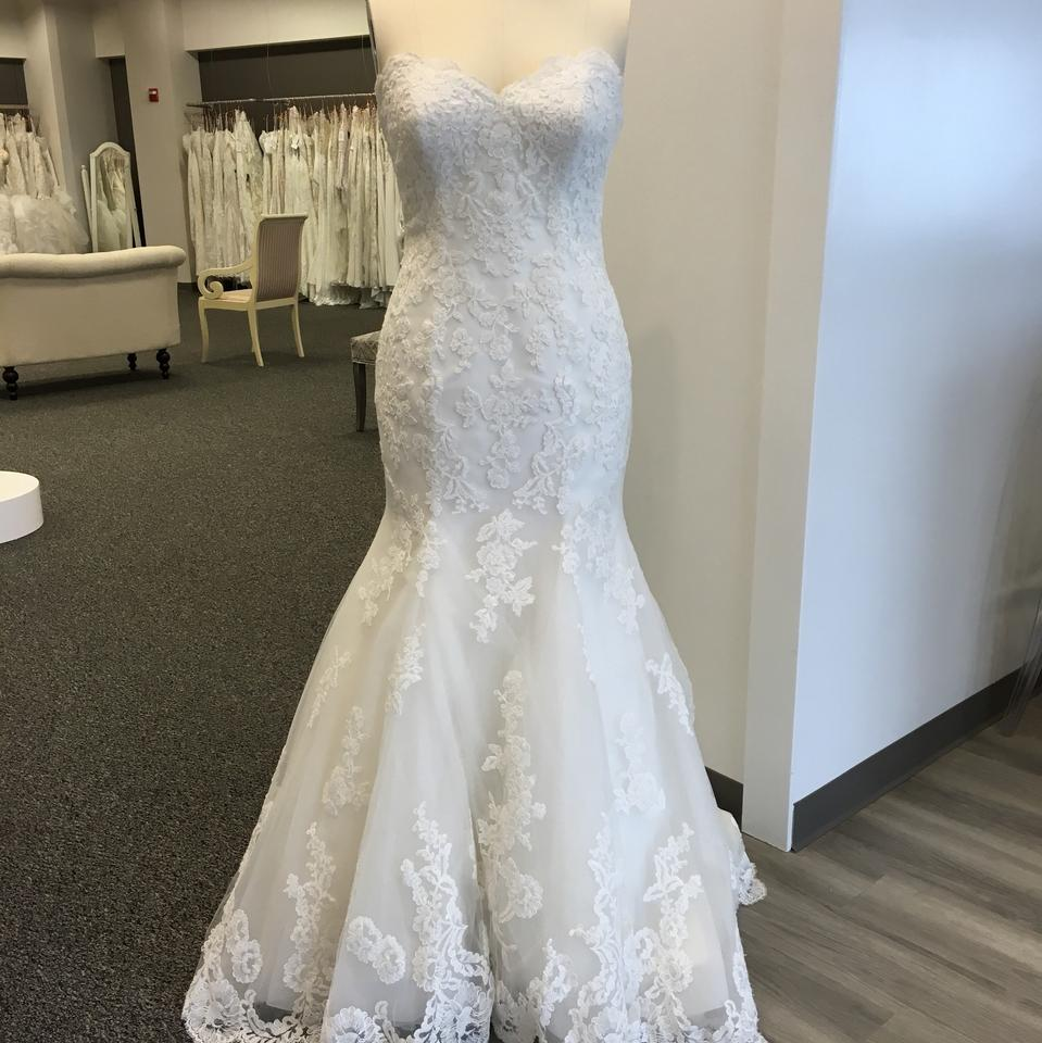 Maggie Sottero Lace Wedding Gown: Maggie Sottero Ivory Lace Valerie Feminine Wedding Dress