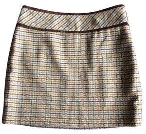 Outback Red Skirt Olive green, brown, light blue
