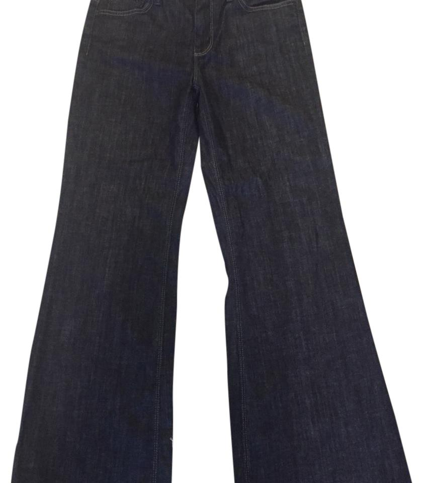 93f30c0a489 7 For All Mankind Dark Blue Rinse Ginger- #p330380s-380s Flare Leg Jeans