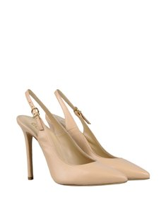 8 Beige/Natural Pumps