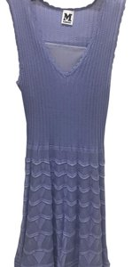 Missoni short dress lilac on Tradesy