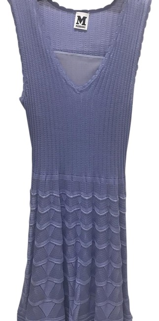 Preload https://img-static.tradesy.com/item/22252896/missoni-lilac-knit-mid-length-short-casual-dress-size-0-xs-0-1-650-650.jpg
