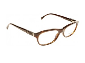 Chanel NEW Oval Quilting Eyeglasses CH 3236Q c. 714 in Tortoise 51mm
