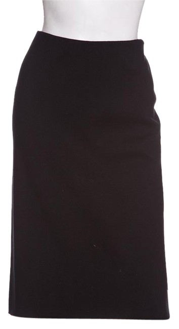 Preload https://img-static.tradesy.com/item/22253158/ralph-lauren-collection-black-stretch-knit-pencil-skirt-size-12-l-32-33-0-1-650-650.jpg