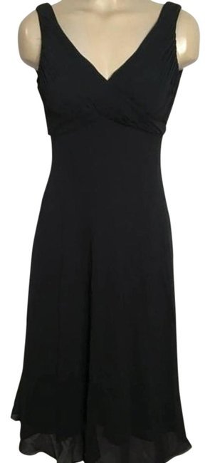 Preload https://img-static.tradesy.com/item/22253291/adrianna-papell-black-mid-length-night-out-dress-size-4-s-0-1-650-650.jpg