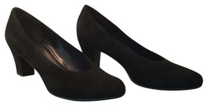 Vaneli Black Suede Pumps