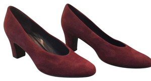 Vaneli Burgundy (Wine) Suede - hottest color of the season Pumps