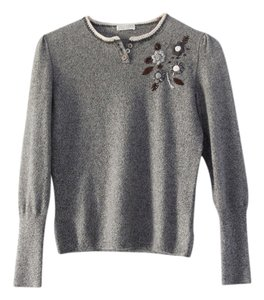Bruno Cucinelli Cashmere Embroidered Sweater