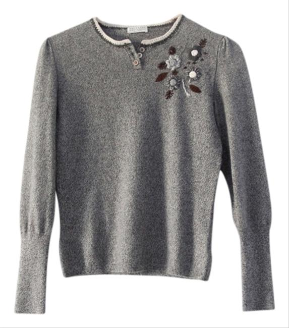 Brunello Cucinelli Cashmere Embroidered Sweater