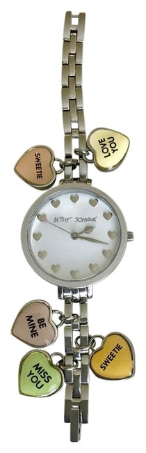 Item - Sterling Silver White Charm Watch