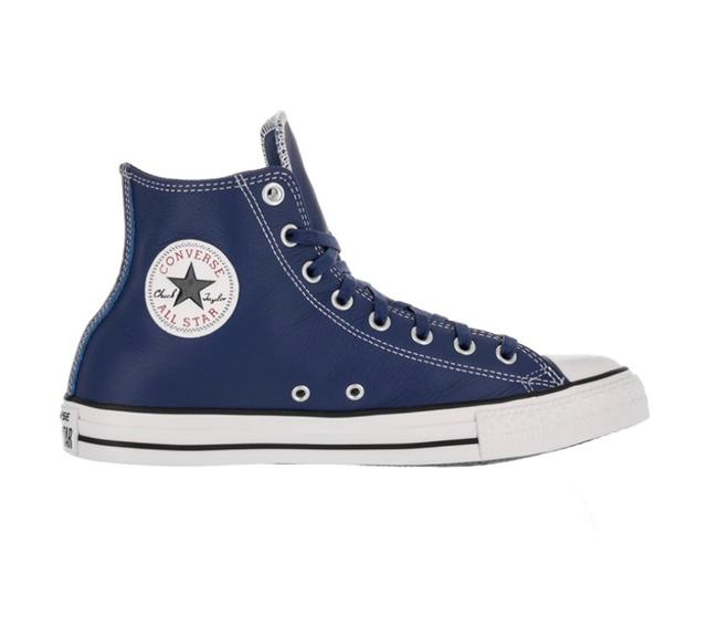 Item - Roadtrip Blue White Leather Tops Sneakers Size US 7.5 Regular (M, B)