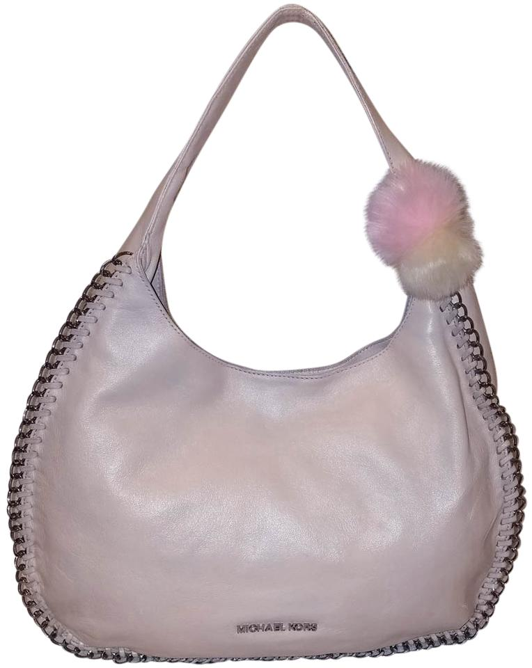 6bebd6298f86 Michael Kors Handbag Mauve Leather Hobo Bag - Tradesy