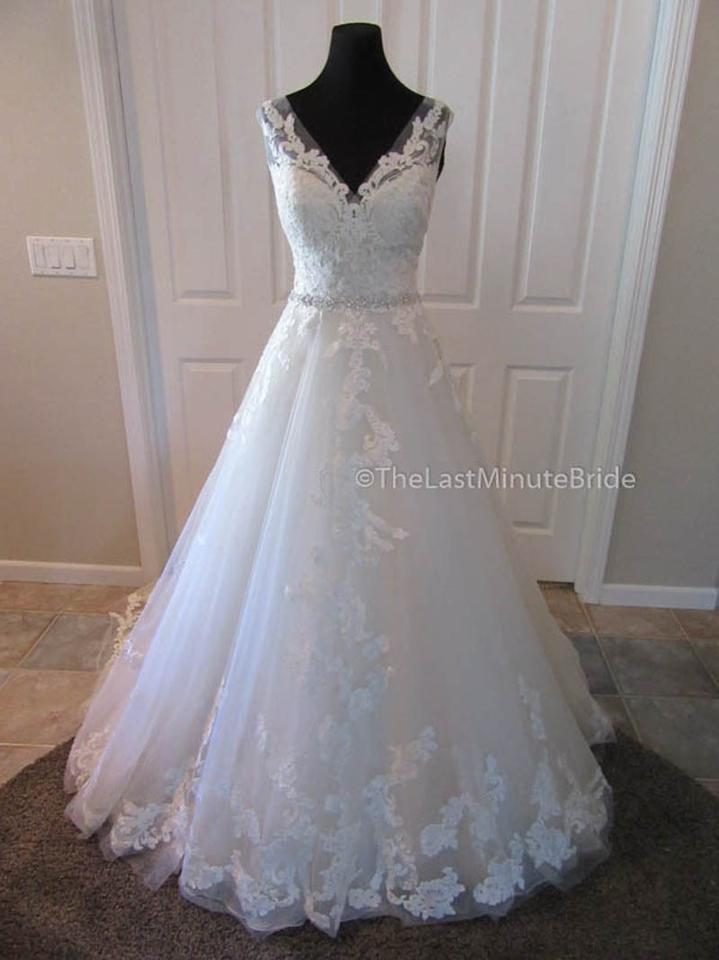 Maggie Sottero Antique Ivory Lace Sybil 5ms701 Feminine Wedding ...