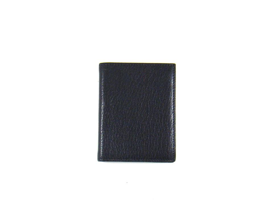 Herms black notebook cover pebbled leather credit business card herms notebook cover pebbled leather credit business card wallet colourmoves