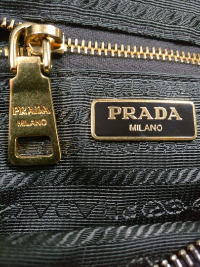 Prada Cross Body Crossbody Black Wallet On Chain Chain Shoulder Bag Image 10