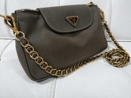 Prada Cross Body Crossbody Black Wallet On Chain Chain Shoulder Bag Image 3