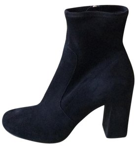 Prada Suede Ankle black Boots