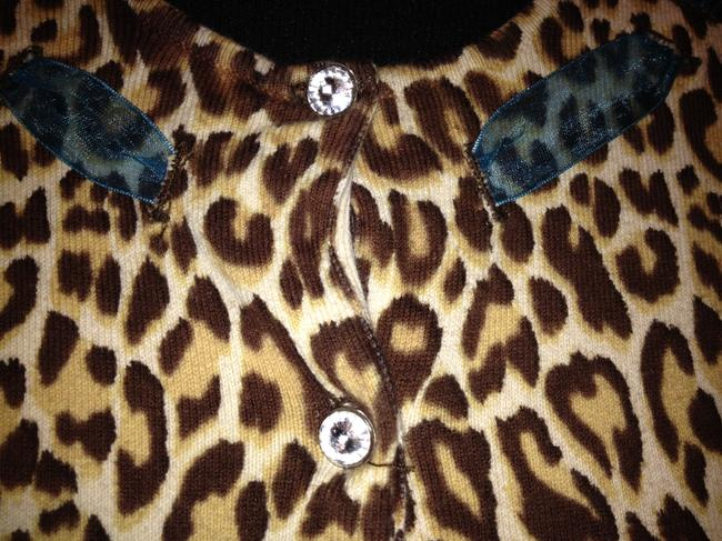Kikit Cyrstal Buttons Button Down Sweater Image 2