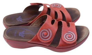 Dansko orange Sandals