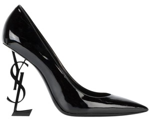 Saint Laurent Opium Opyum Stiletto Logo black Pumps