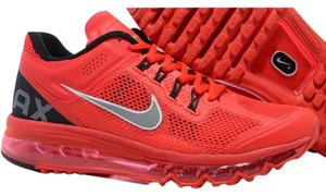 51629101676a Nike Red Air Max Waffle Skin Sneakers Size US 8.5 Regular (M