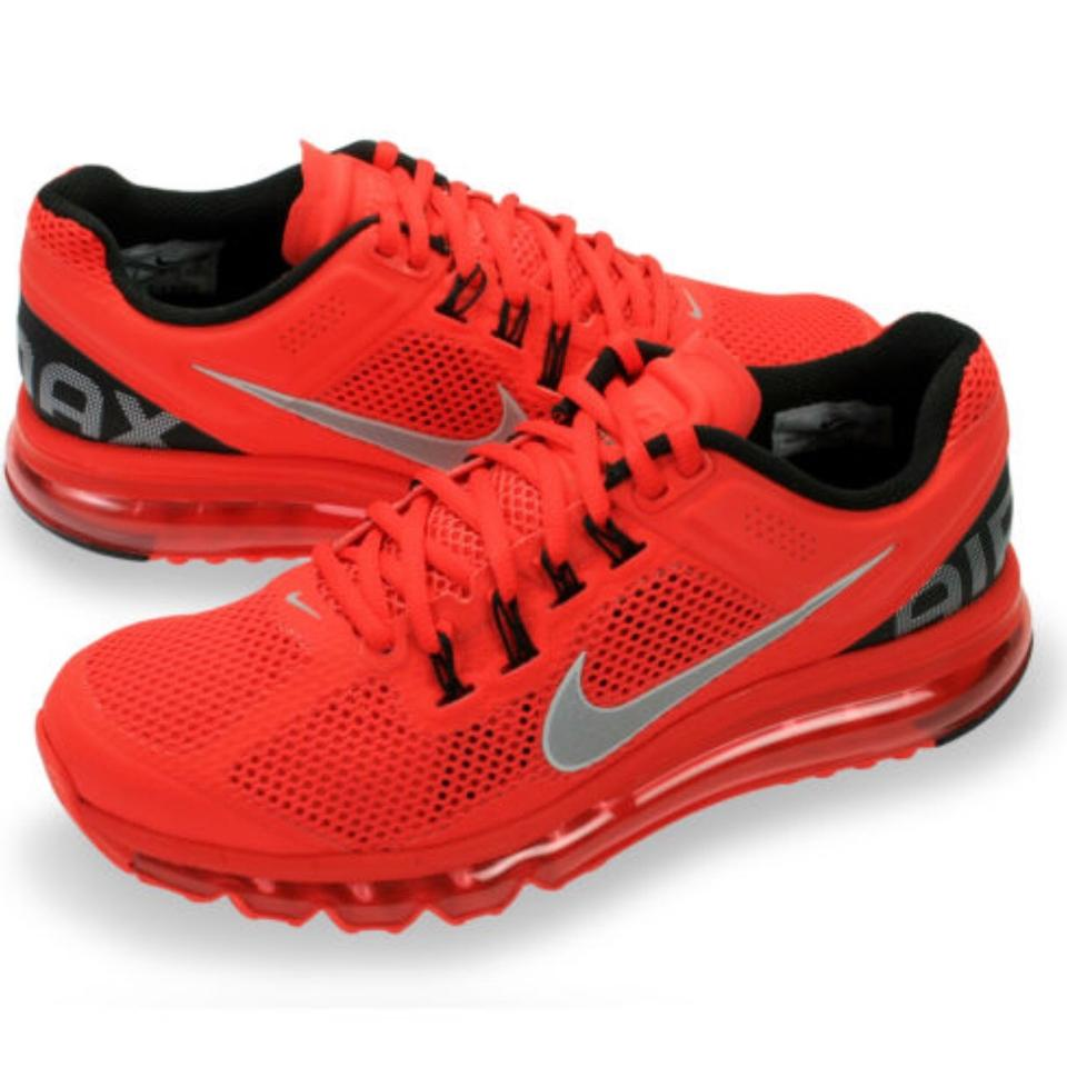 sale retailer 1ddda d92c2 Nike Sneakers Training Air Max Red Athletic Image 5. 123456