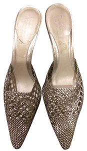 Nordstrom Silver Mules