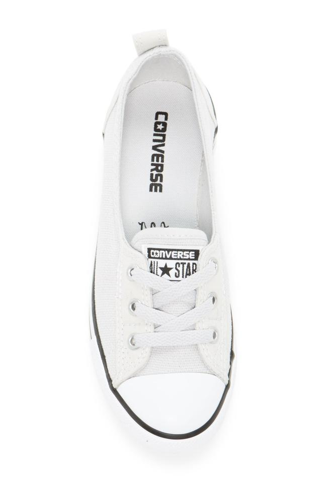 efd30f861062 Converse Mouse White Black Chuck Taylor All Star Ballet Canvas ...