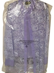 Bob Mackie Button Down Shirt lavender