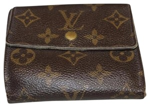 Louis Vuitton Louis Vuitton Monogram Coin Holder and Wallet LVWLM5