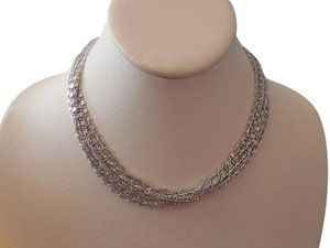 Sarah Coventry Vintage Multi Chain Necklace