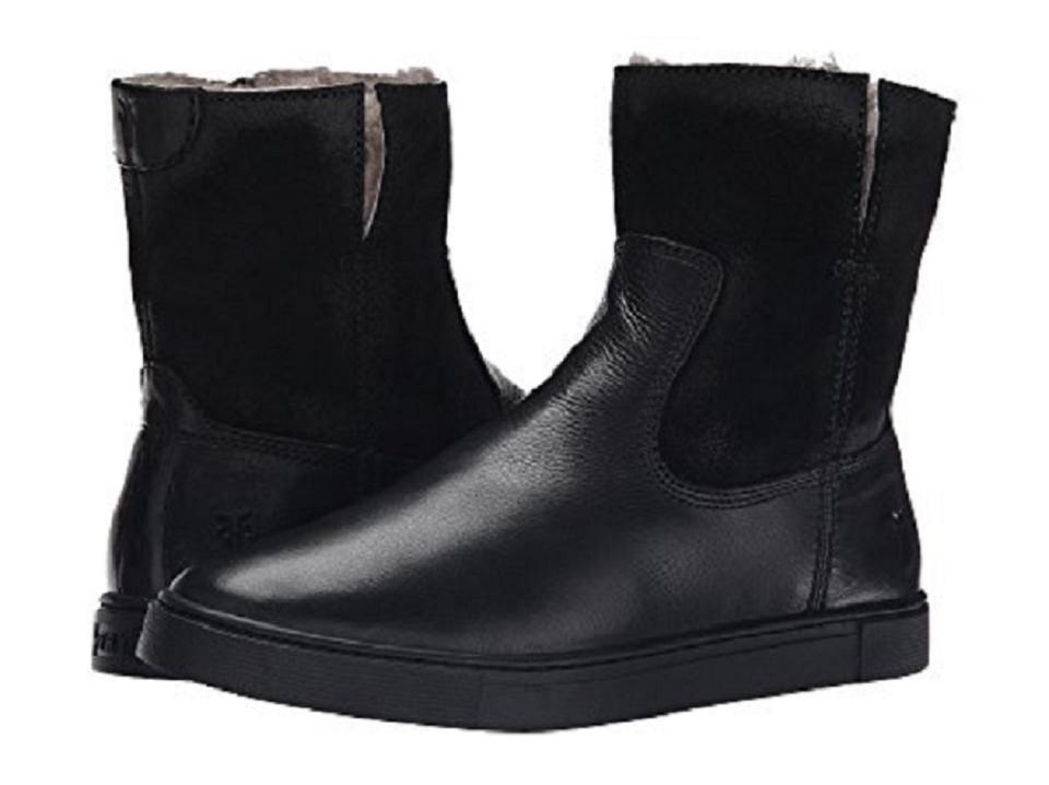 Ladies Lined Frye Black Shearling Lined Ladies Boots/Booties Very good color cc6e2b