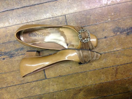 Franco Sarto gold Pumps
