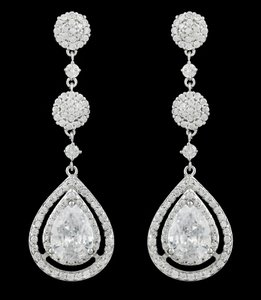 Zarconia Bridal Earrings