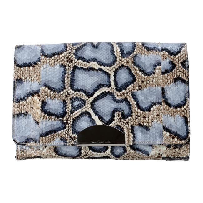 "Item - ""1"" Women's Multi-color Python Skin / Leather Clutch"