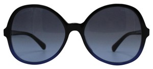 Chanel Chanel Black/ Blue Oval Summer Collection Sunglasses 5351-A c.1558/S2