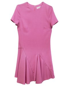 Dior short dress pink Wool Short Sleeve on Tradesy